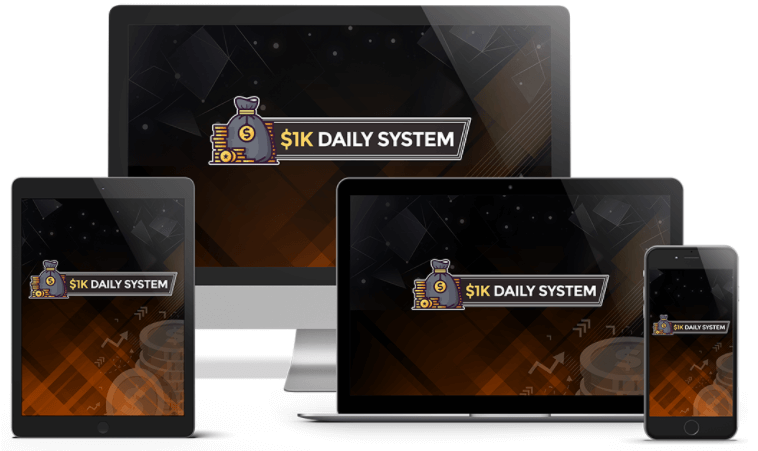 Glynn Kosky $1K Daily System review   Launch Discount Price $17